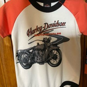 Authentic Harley Davidson Infant Onesie/Bib Set